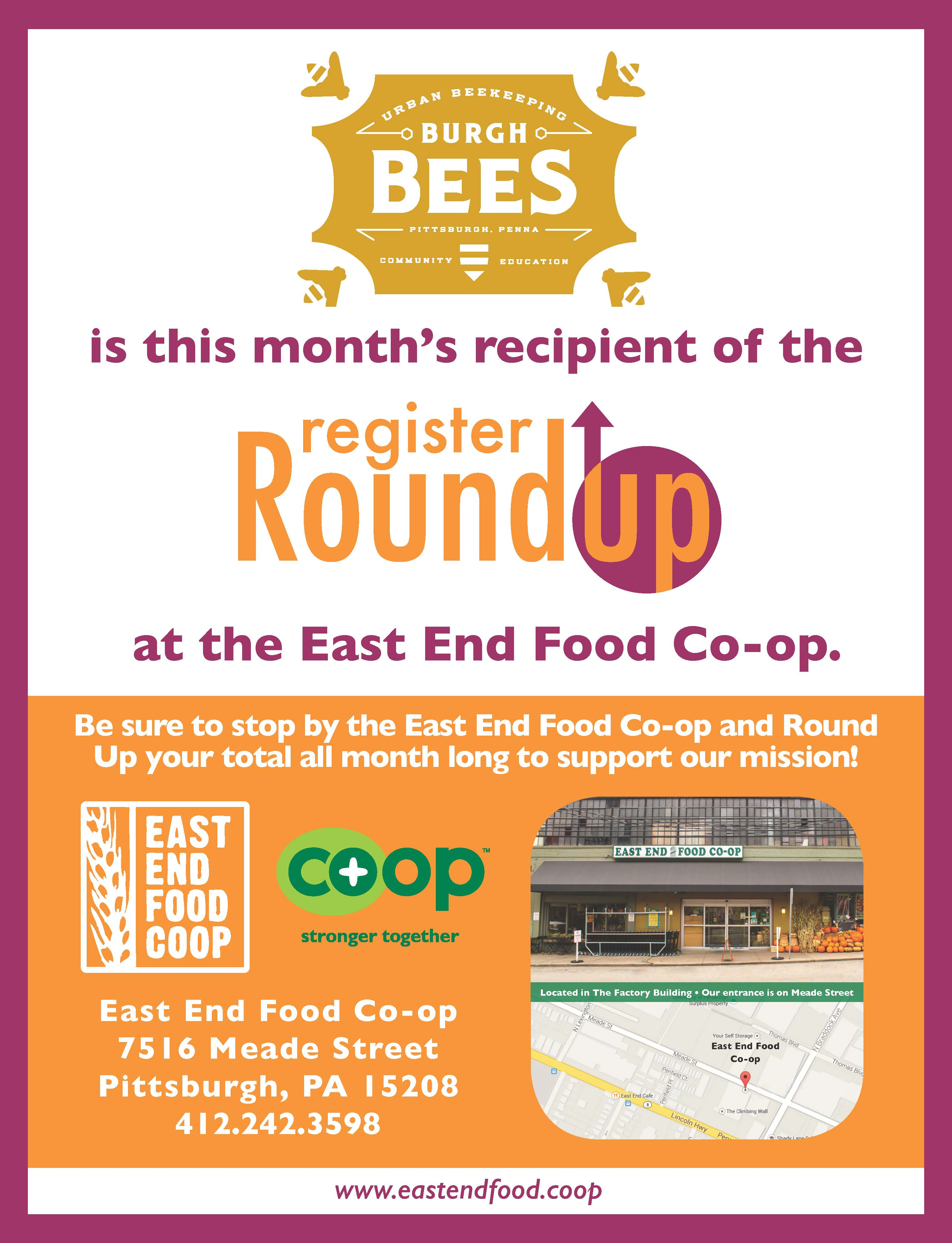 Burgh Bees RoundUp Patricipant Flyer